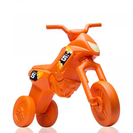 Tricicletă fără pedale Enduro - portocaliu-portocaliu