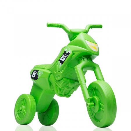 Tricicletă fără pedale Enduro - verde-verde