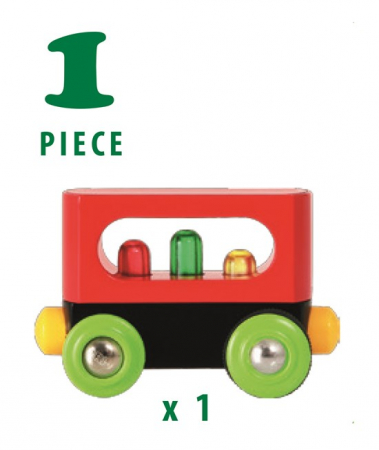 Vagon cu leduri - Primul meu trenuleț, Brio 337084