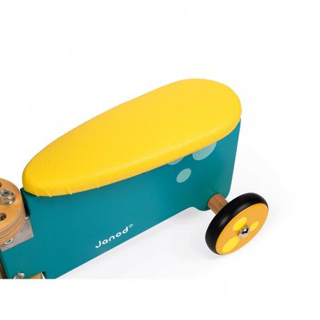 Vehicul din lemn - Hipopotam cu depozitare - Janod J080034
