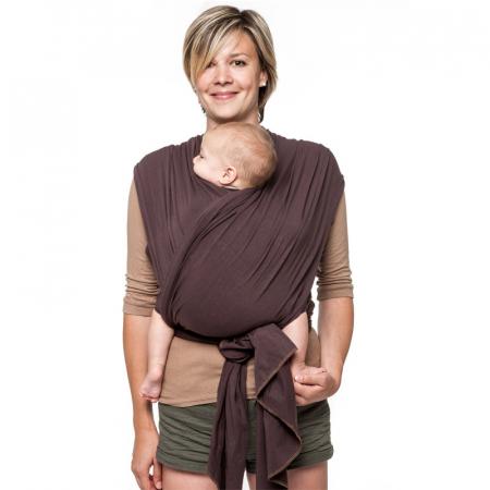 Wrap elastic Liliputi® Classic line - Brown Hazel5