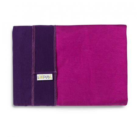 Wrap elastic Liliputi® Duo line - Purple-Fuchsia1