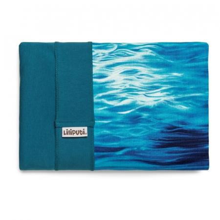 Wrap elastic Liliputi® Rainbow line - Aqua1
