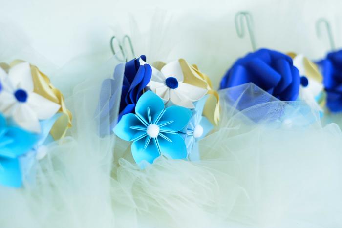 Aranjament cristelniță Albastru-Bleu 1