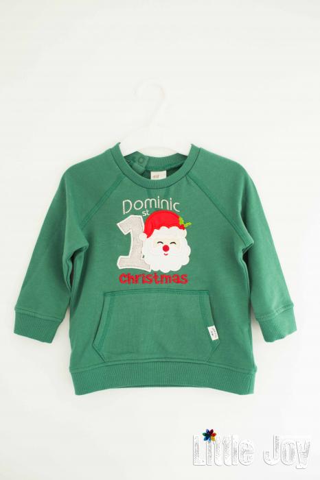 Bluziță personalizată prin brodare - Dominic 0
