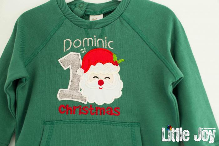 Bluziță personalizată prin brodare - Dominic 1