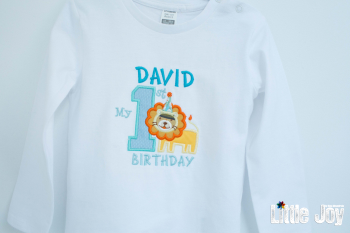 Bluziță personalizată prin broderie 2