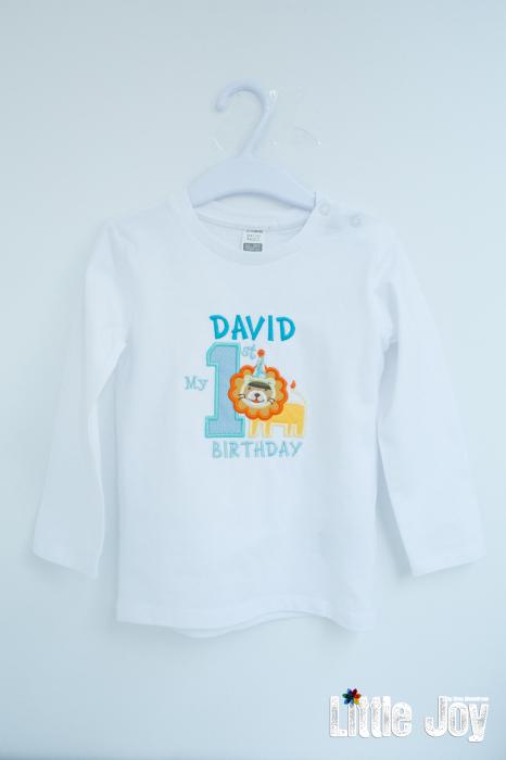 Bluziță personalizată prin broderie 0