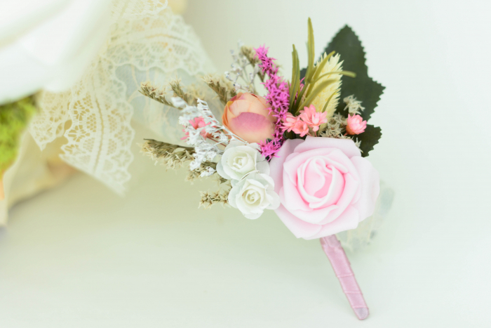 Cocardă nuntă 1