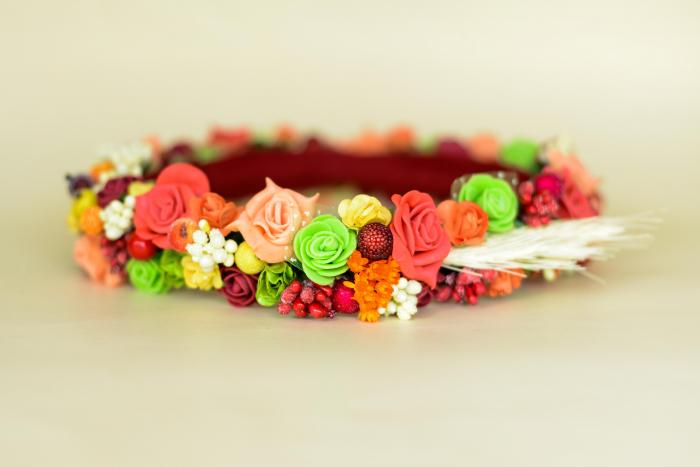 Coroniță flori 3