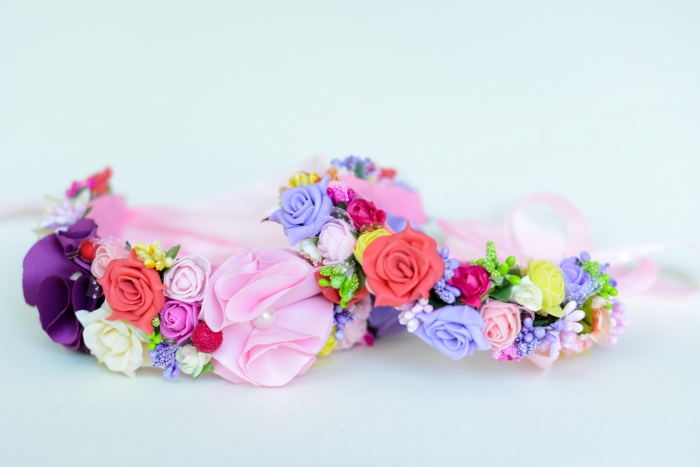Coroniță flori 1