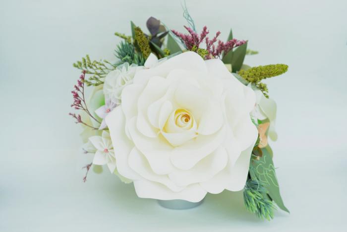 Decor masă - Ghiveci - Flori gigant 3