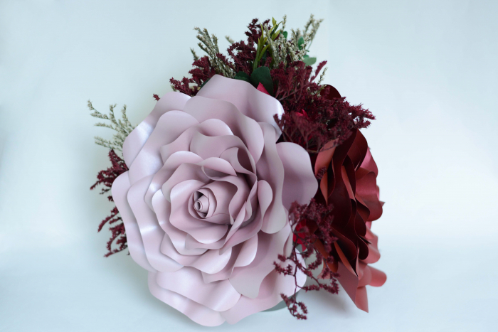 Decor masă - Ghiveci - Flori gigant 4