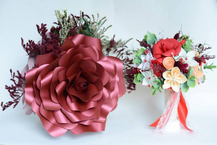 Decor masă - Ghiveci - Flori gigant 0