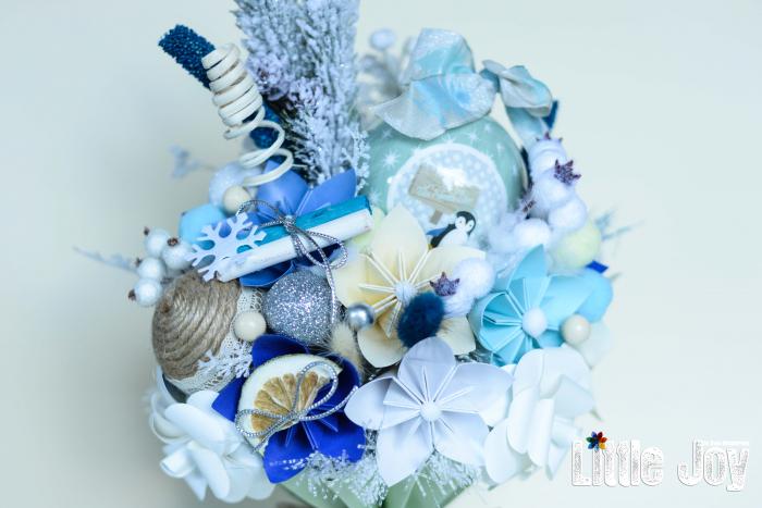 Decorațiune Crăciun - Bleu 1