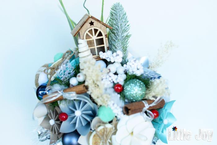Decorațiune Crăciun - Turcoaz 1