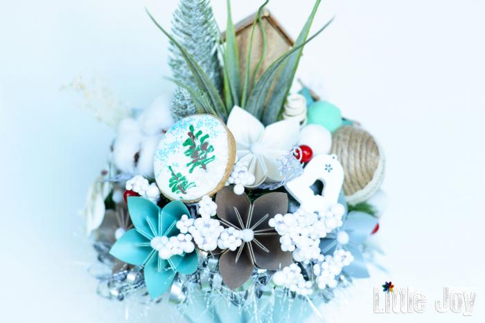 Decorațiune Crăciun - Turcoaz 2