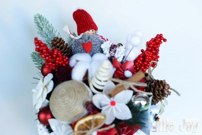 Decorațiune Crăciun - Roșu 1