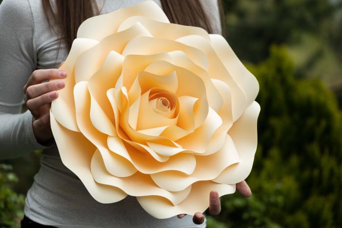Floare model Rose L - 40 cm 0