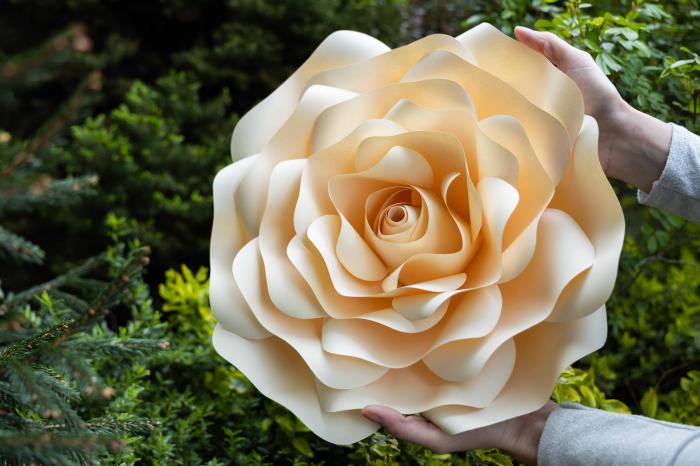 Floare model Rose L - 40 cm 2