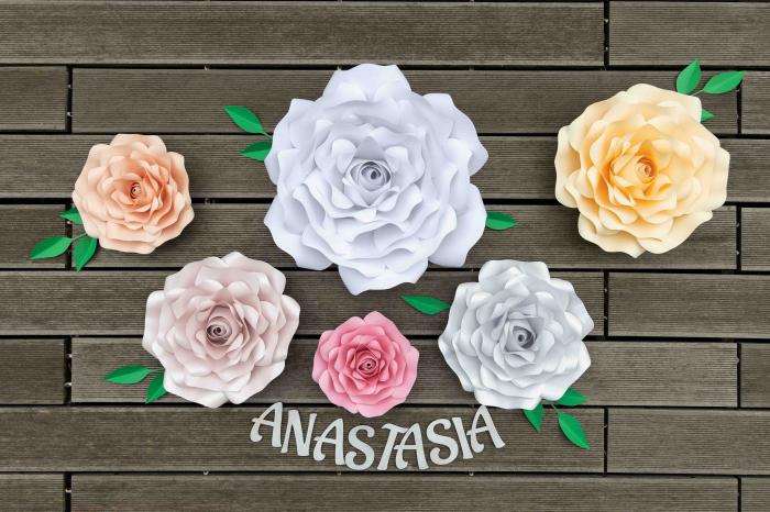 Floare model Rose L - 40 cm 1