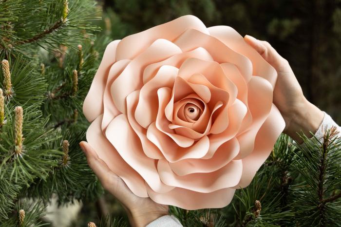 Floare model Rose S - 28 cm 2