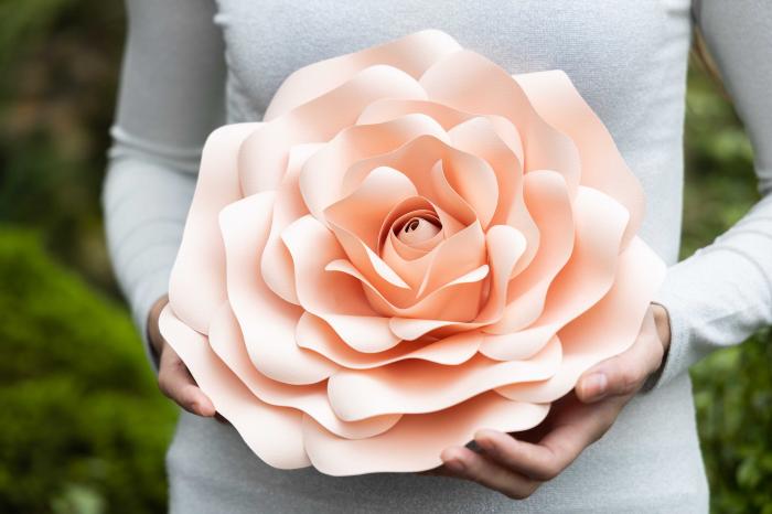 Floare model Rose S - 28 cm 0