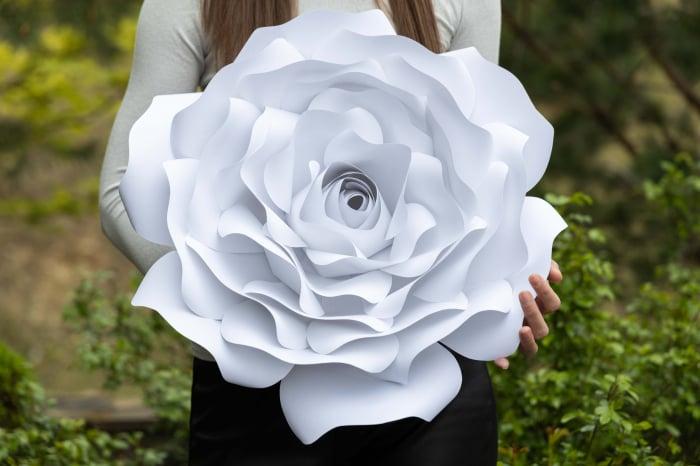 Floare model Rose XL - 50 cm 0