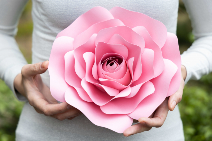 Floare model Rose XS - 20 cm 0