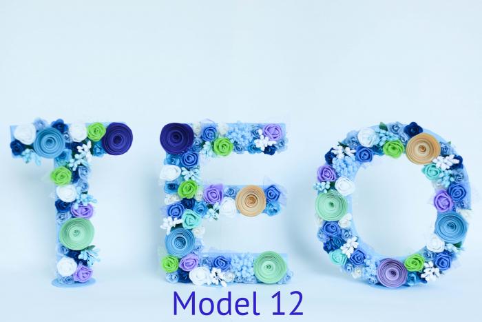 Litere decorate - Băieței 11