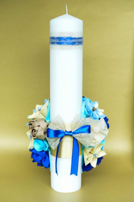 Lumânare botez - Fundiță 2