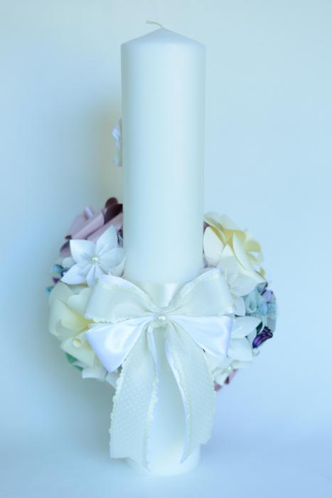 Lumânare botez - Bijuterii 3