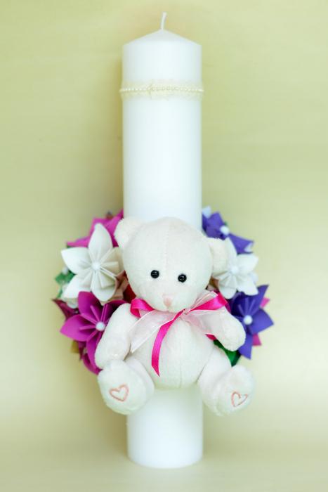 Lumânare botez - Ursuleț Pluș 2