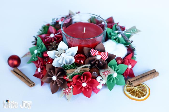 Lumânare Crăciun - Parfumată 4