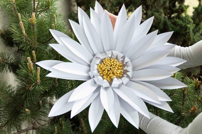 Model floare DaisyXL - 52 cm 1