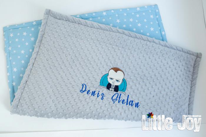 Păturică personalizată - Baby Boss [2]