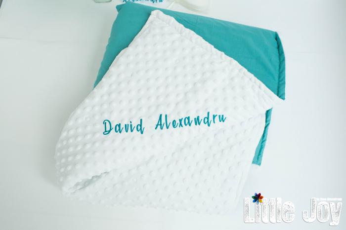 Păturică personalizată - David [0]
