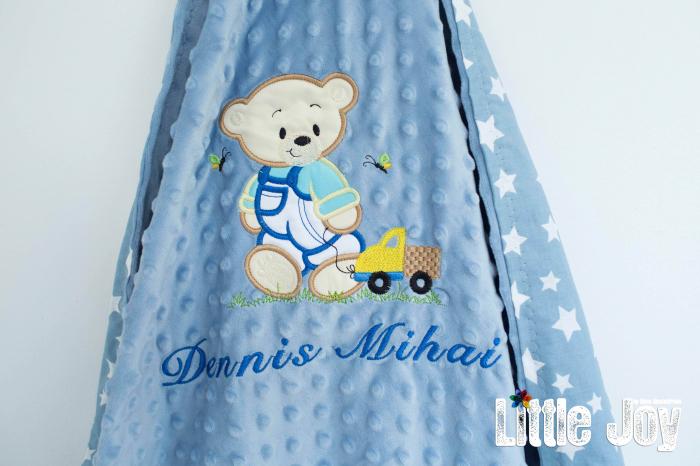 Păturică personalizată - Dennis 2