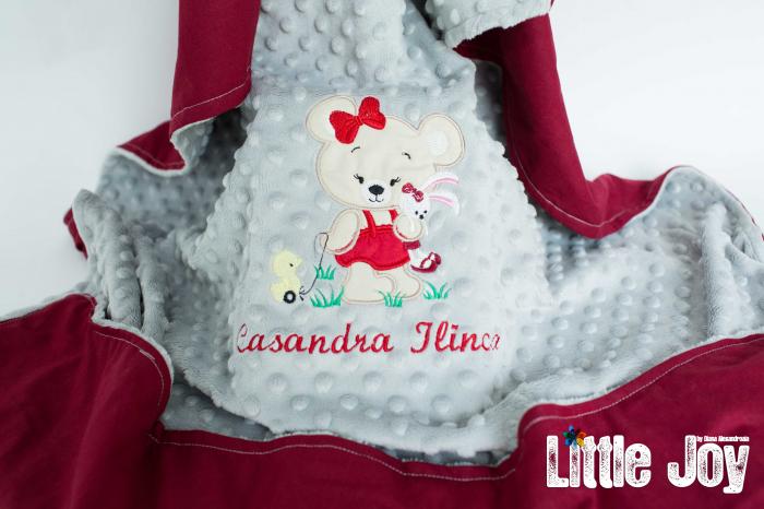 Păturică personalizată - Casandra 1