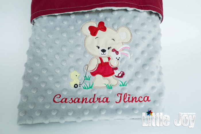 Păturică personalizată - Casandra 3