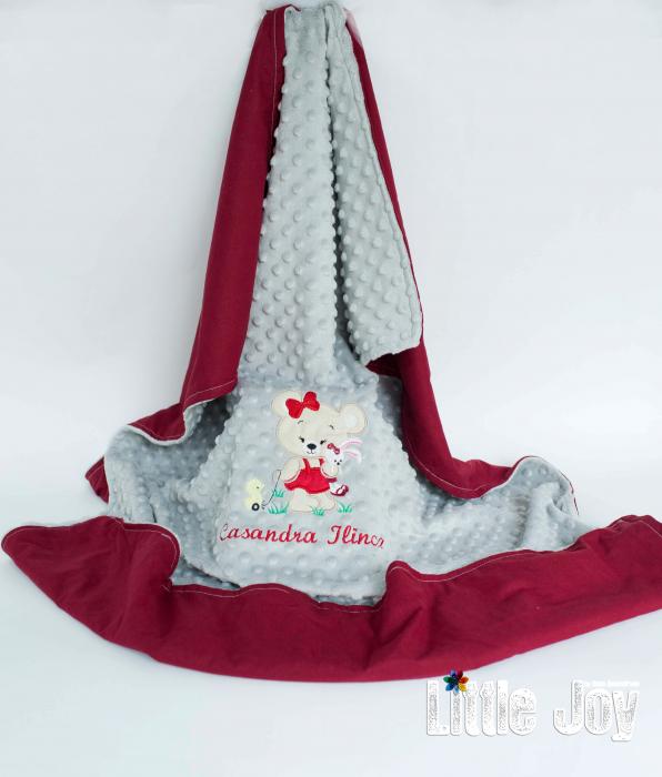 Păturică personalizată - Casandra 0