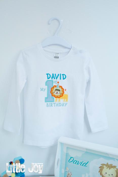 Set 1 An cu bluziță, personalizat 4