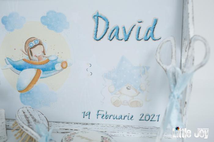 Set 1 An personalizat Avion - David 3