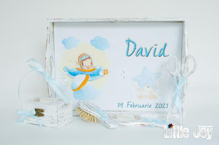 Set 1 An personalizat Avion - David 0