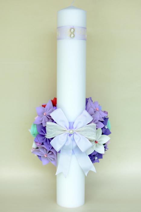 Set lumânări cununie 50 cm [4]