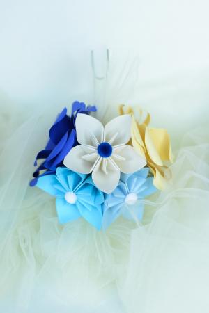 Aranjament cristelniță Albastru-Bleu2