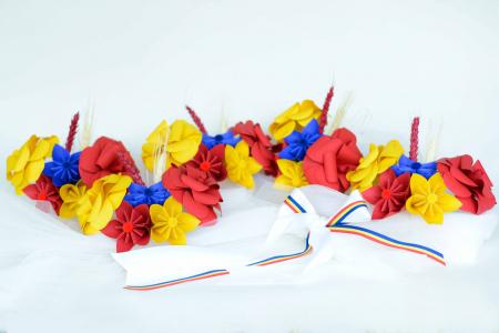 Aranjament cristelniță Tricolor0
