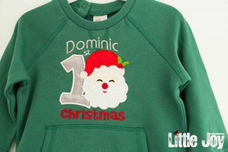 Bluziță personalizată prin brodare - Dominic1