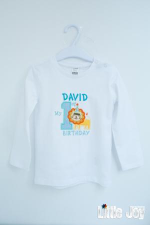 Bluziță personalizată prin broderie0
