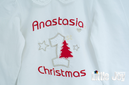 Set Body Brodat Crăciun - Anastasia + botoșei1